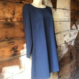 American Apparel Dresses - American Apparel Size Small Navy Long Sleeve Dress